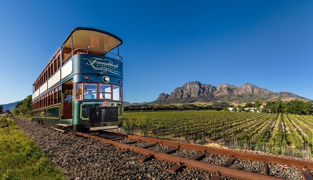 trem wine tram vinícolas na áfrica do sul